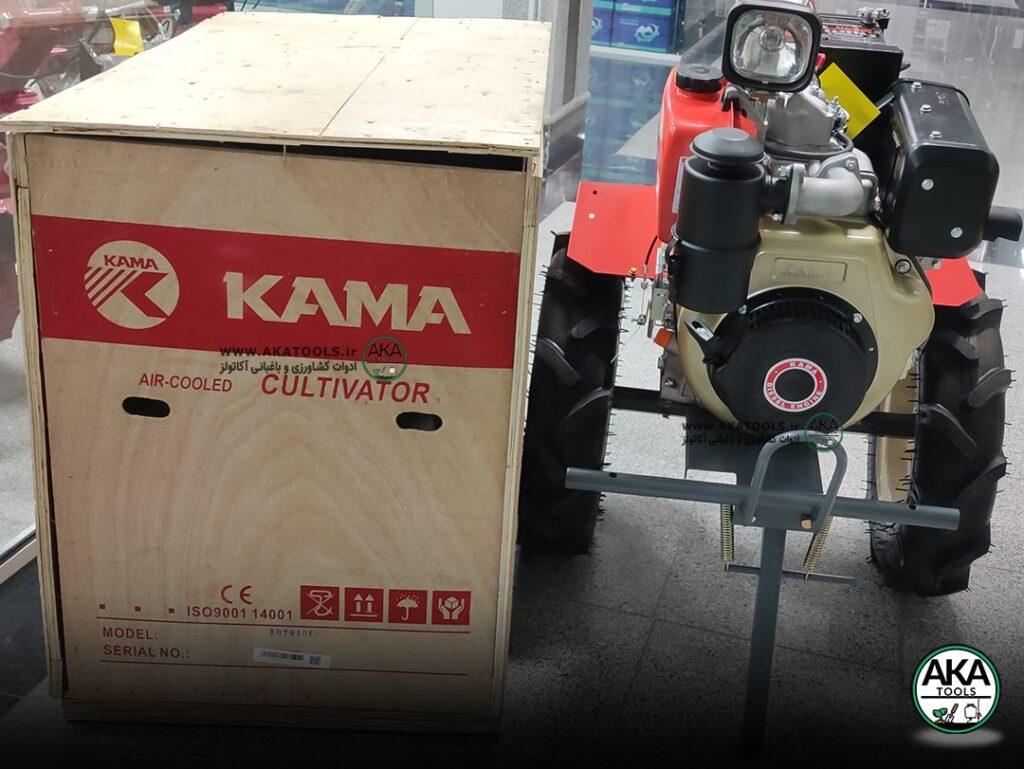 تیلر کولتیواتور کاما کاما 10 اسب